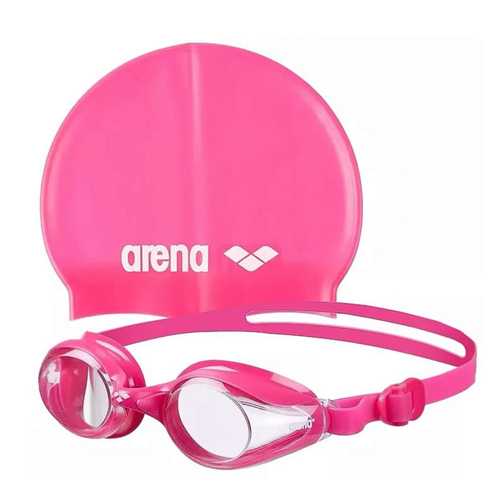Arena 9242392 ARENA POOL JR SET GÖZLÜK BONE SETİ