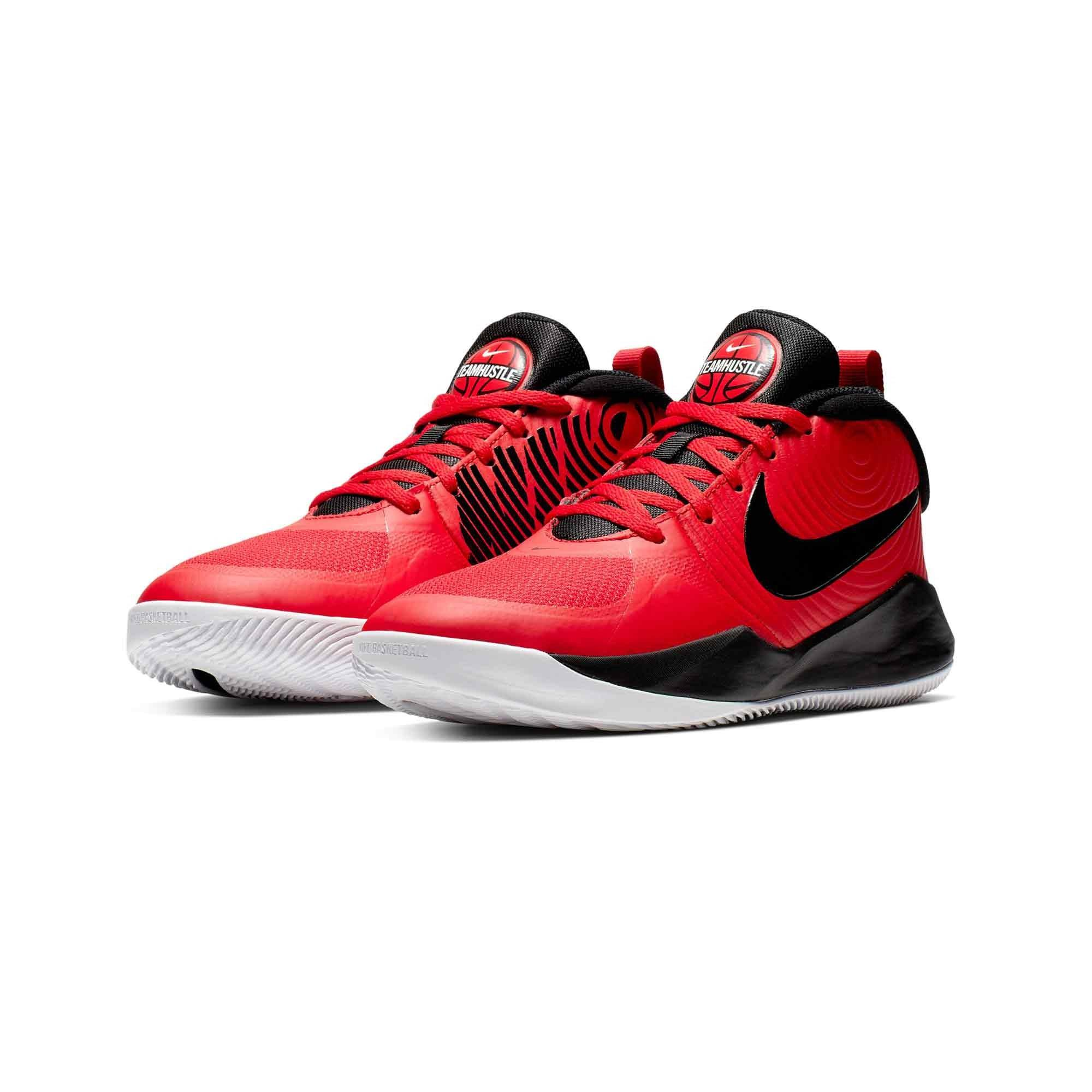 Nike AQ4224-600 TEAM HUSTLE BASKETBOL AYAKKABISI