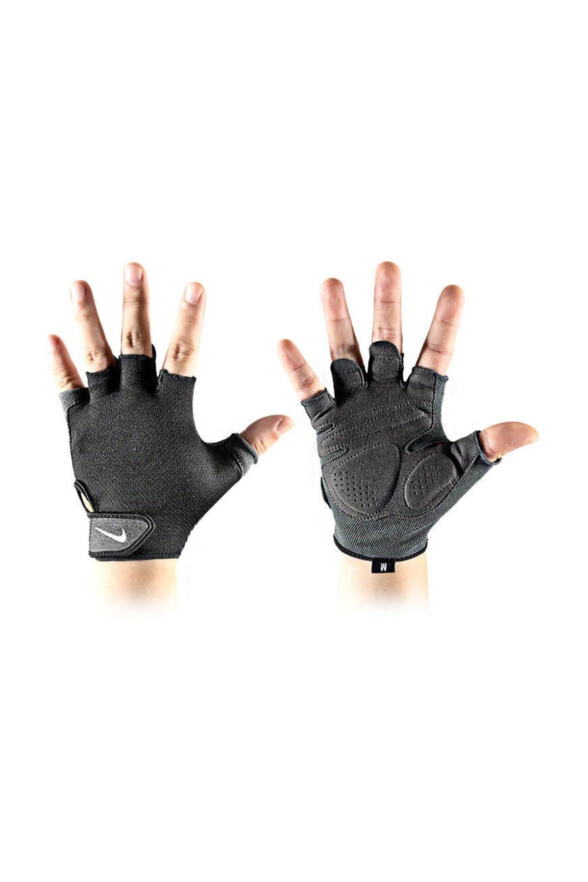 Nike N.LG.C5.057.SL MEN'S ESSENTIAL FITNESS GLOVES FITNESS GYM ELDİVENİ