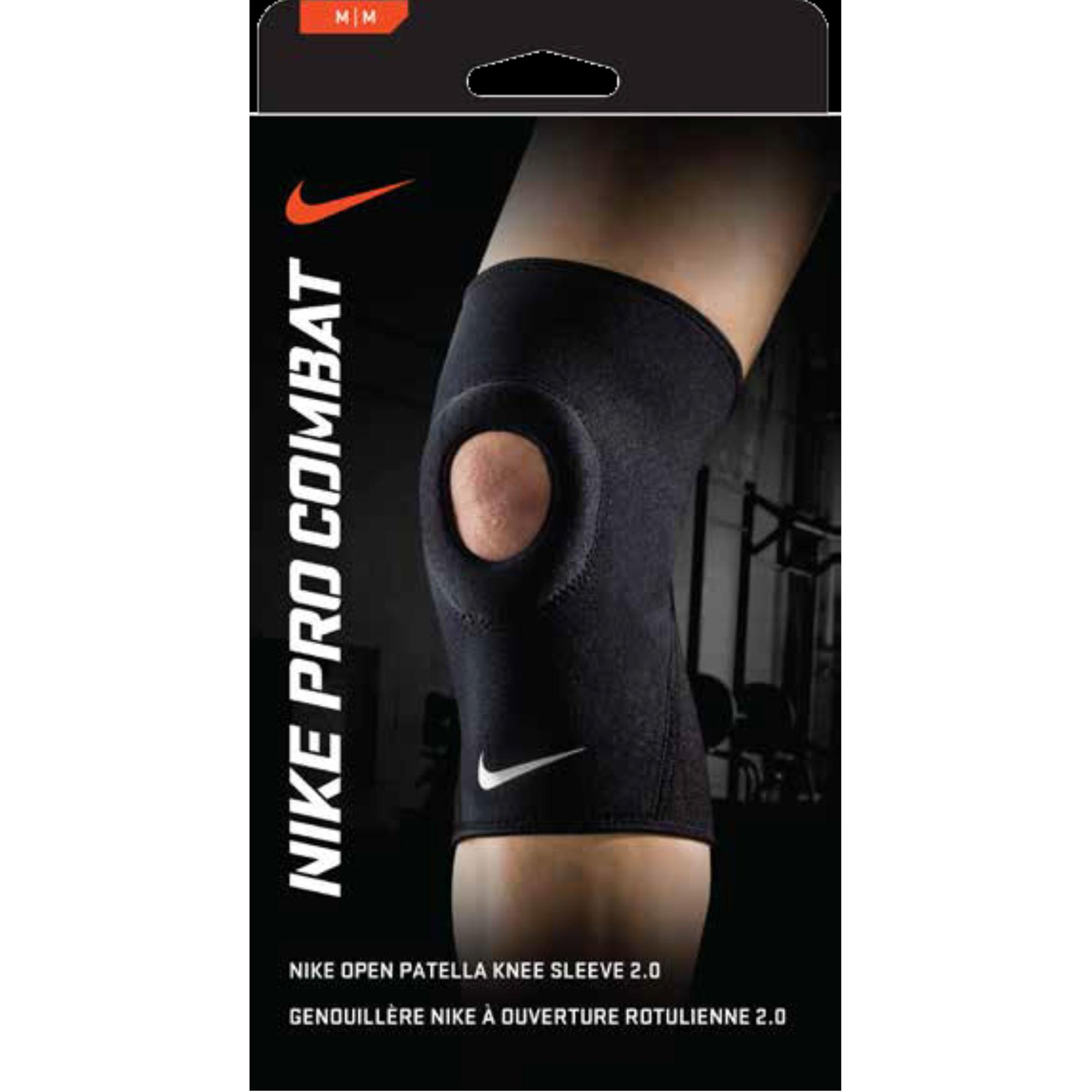 Nike PRO COMBAT OPEN-PATELLA KNEE SLEEVE 2.0 DİZLİK (XL)
