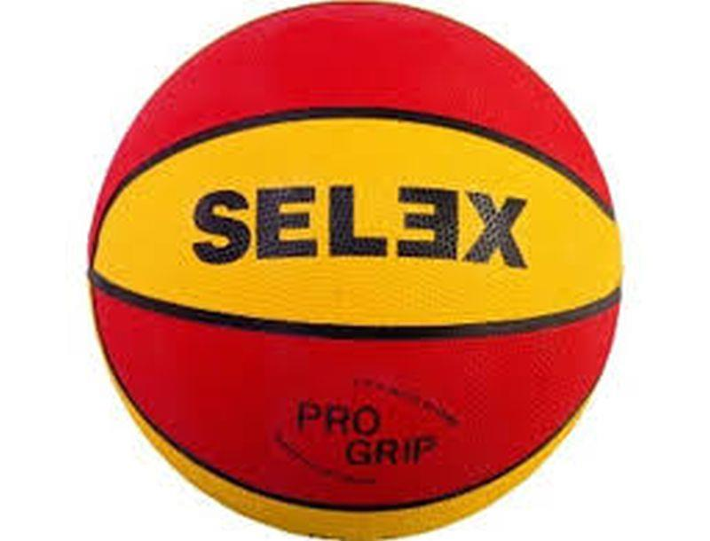 Selex BT-7 YELLOW-RED BASKETBOL TOPU BT - 7 WHITE - BLUE